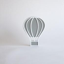 Hot Air Balloon -Grey