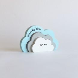 Sleepy Clouds-Blue