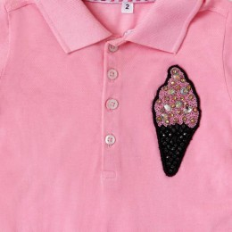 Softy Ice Cream & Drop Polo Dress