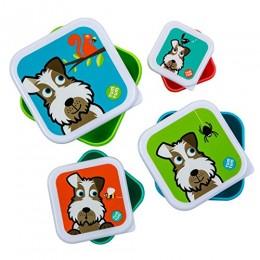 TUM TUM Nesting Snack Boxes - Set of 4 -Scruff