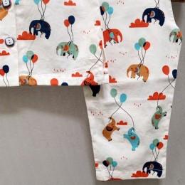 Happy Elephants Nightsuit Set