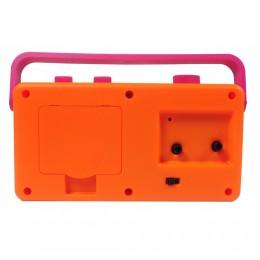 My Fab Alarm Clock (Pink Orange)