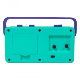My Fab Alarm Clock (Purple Aqua)