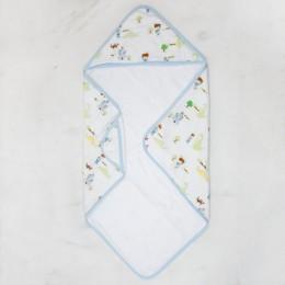 Prince Adventures Organic Muslin Hooded Towel