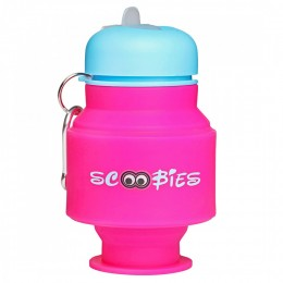 Owl Silicone Water Bottle