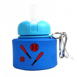 Baseball Silicone Water Bottle