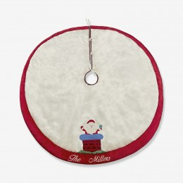 Welcome Santa Tree Skirt- Personalized