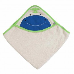 Organic Hooded Towel - Dino