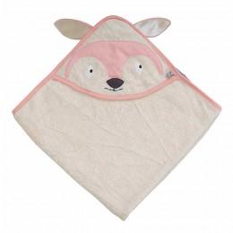 Organic Hooded Towel - Fox