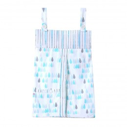 Raindrops - Diaper Stacker