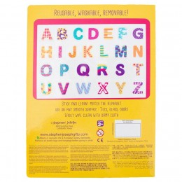 Stephen Joseph Static Cling Alphabet- Yellow