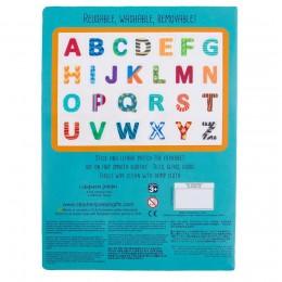 Stephen Joseph Static Cling Alphabet- Blue