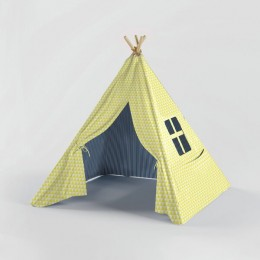Beach Shack -Teepee - Yellow