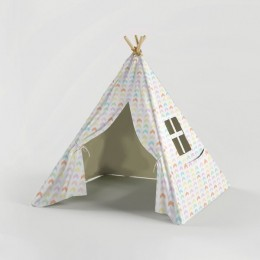 Beach Shack -Teepee - White