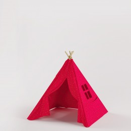 Beach Shack -Teepee - Red