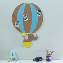 High And Mighty Hot Air Balloon Pinboard