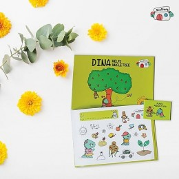 Dina Helps Uncle Tree - Story Activity Book