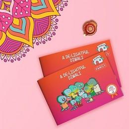A De-Lightful Diwali - Story Activity Book