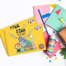 Dino & The Best Gift Ever - Story Activity Book