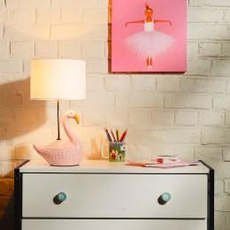 Pretty Pink Flamingo Lamp