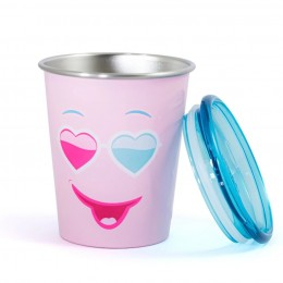 Spill Free Stainless Steel Cup - Diva