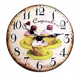 It's Cake O'clock - Wall Clock