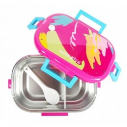 Scoo Yum 3D Lunch Box (Pink)