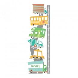 Transport - Height Chart Sticker