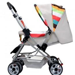 Lollipop Lite Baby Stroller & Pram - Rainbow