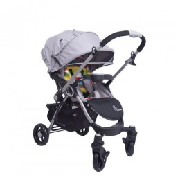 R for Rabbit Chocolate Ride Stylish Baby Stroller and Pram (Rainbow)