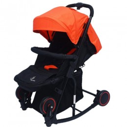 R for Rabbit Rock N Roll - The Rocking Baby Stroller and Pram
