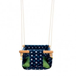 Pine Wood Swing - Blue