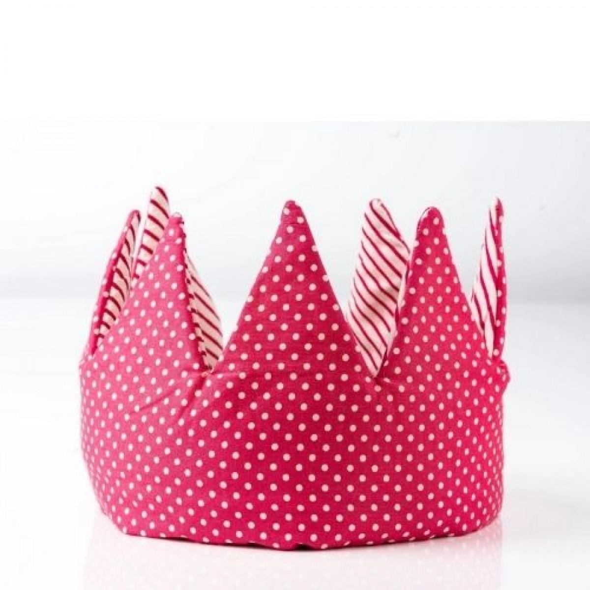 Crown - Pink Stripes