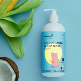 Natural Bottle and Dish Wash - 450 ml